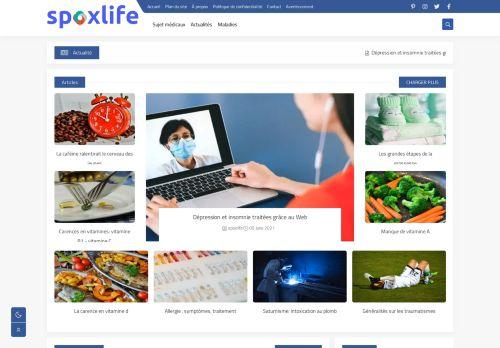 لقطة شاشة لموقع spoxlife بتاريخ 09/06/2021 بواسطة دليل مواقع آوليستس