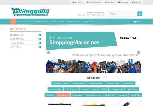 لقطة شاشة لموقع shopping maroc بتاريخ 15/06/2021 بواسطة دليل مواقع آوليستس