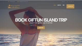 لقطة شاشة لموقع جزيرة الجفتون Giftun Island بتاريخ 31/12/2019 بواسطة دليل مواقع آوليستس